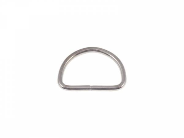 D-Ring 30x18x3mm Nickel
