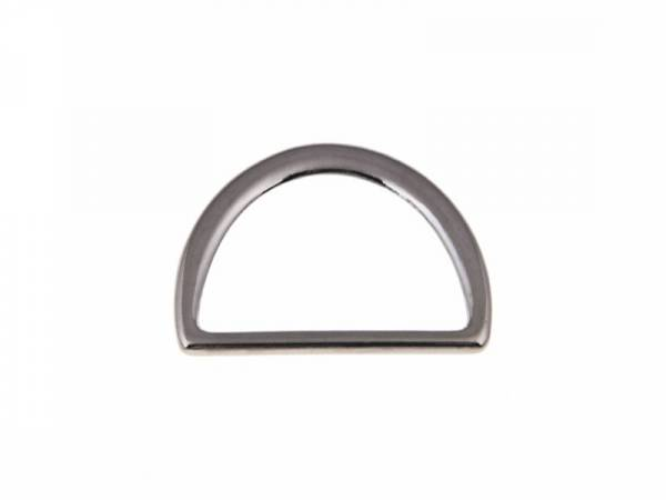 D-Ring 40x22x2mm Nickel